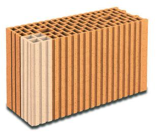 Brique terre cuite tableau-feuillure POROTHERM GFR20 ép.20cm haut.29,9cm long.50cm - Gedimat.fr