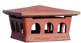 cape italienne aspirateur terre cuite pour boisseau effe2 30x30 cm. Black Bedroom Furniture Sets. Home Design Ideas