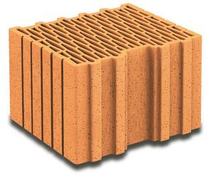 Brique terre cuite complémentaire POROTHERM R30 ép.30cm haut.18,9cm long.25cm - Gedimat.fr