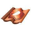 Tuile à douille DUROVENT pour tuile TRADIPANNE universelle diam.110 à 150mm coloris rouge sienne - Gedimat.fr