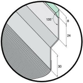 Solin joint mastic nuance ardoise avec bavette 25cm en plomb plissé naturel long.2m - Gedimat.fr
