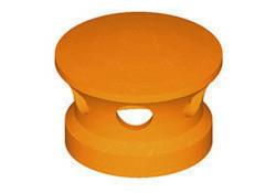 Lanterne diam.150mm pour tuiles TERREAL coloris rouge flammé - Gedimat.fr