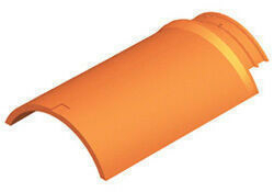 Arêtier de ventilation pour tuiles TERREAL coloris brun rustique - Gedimat.fr