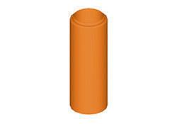 Tuyau de rallonge diam.150mm hauteur 40cm pour tuiles à douille TERREAL coloris tabac - Gedimat.fr