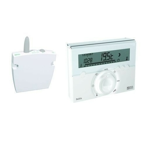 Thermostat programmable fil pilote radio DELTIA 8.13 - Gedimat.fr