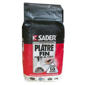 Plâtre fin sac papier 5kg - Gedimat.fr