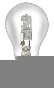 Ampoule électrique halogène standard SYLVANIA CLASSIC ECO économique culot à visser E27 puissance 42W en blister de 2 pièces - Gedimat.fr
