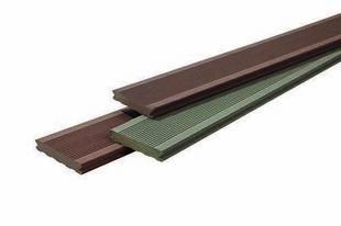 Lame de terrasse Composite FOREXIA ELEGANCE rainurée ép.23mm larg.138mm long.4m Gris anthracite - Gedimat.fr