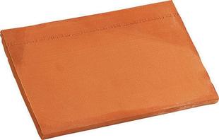 Bardelis droit PLATE 20x30 coloris brun - Gedimat.fr