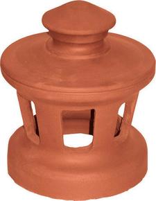 Chapeau de ventilation en terre cuite