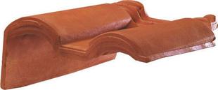 Tuile de rive à rabat gauche à recouvrement 2/3 pureau MERIDIONALE POUDENX coloris pastel - Gedimat.fr