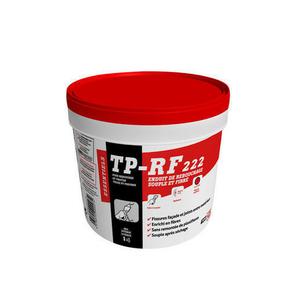 Enduit de rebouchage souple et fibr tp rf222 1kg for Enduit de lissage ou rebouchage