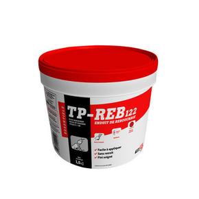 Enduit de rebouchage en pâte prêt à l'emploi TP-REB122 pot de 1,5kg ton blanc - Gedimat.fr