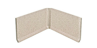 Angle rentrant carrelage pour sol en grès cérame pleine masse DOTTI larg.3cm long.10cm coloris light beige - Gedimat.fr