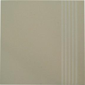 Plat de marche carrelage pour sol en grès cérame pleine masse UNI dim.30x30cm coloris beige ivory - Gedimat.fr