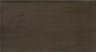 Carrelage pour mur en faïence WALL larg.25cm long.46 cm coloris brown - Gedimat.fr