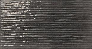 Carrelage pour mur en faïence WALL GLOSSY larg.25cm long.46 cm coloris steel - Gedimat.fr