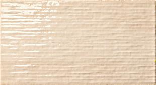 Carrelage pour mur en faïence WALL GLOSSY larg.25cm long.46 cm coloris sand - Gedimat.fr