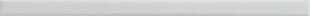 Listel Glossy carrelage pour mur en faïence WALL larg.2,5cm long.46 cm coloris white - Gedimat.fr