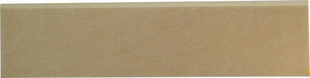 Plinthe carrelage pour sol en grès cérame émaillé MOMENTUM larg.8cm long.33cm coloris cream - Gedimat.fr