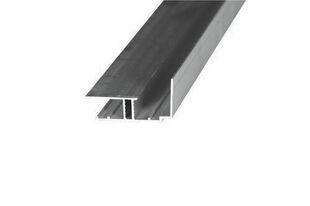 Profil de bordure pour toiture de véranda ép.32mm long.4,00m coloris blanc - Gedimat.fr