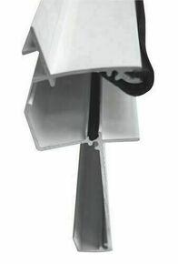 Kit Profil faitière supérieure et inférieure Joint compris long.4m gris - Gedimat.fr