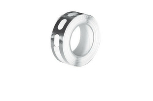 Ruban adhésif obturateur pour polycarbonate 16mm long.5,00m ep3,8cm - Gedimat.fr