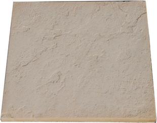 Dalle DELPHINE en pierre reconstituée 50x50cm ép.2,5cm coloris pierre - Gedimat.fr
