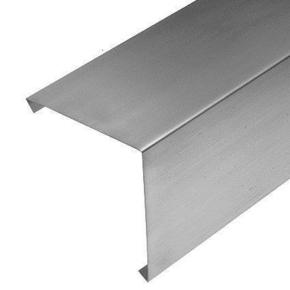 Faîtage simple à pinces zinc naturel développé 33,3cm ép.0,65mm long.2m - Gedimat.fr