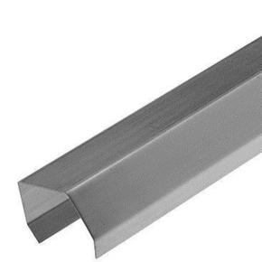 Couvre joint zinc naturel développé 100mm long.2m pour tasseaux de 40 - Gedimat.fr