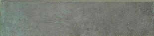 Plinthe carrelage pour sol en grès cérame émaillé TIMES SQUARE larg.8cm long.34cm coloris gris - Gedimat.fr