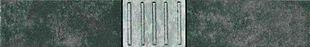 Listel carrelage pour mur en faïence TIMES SQUARE larg.6cm long.40cm coloris anthracite - Gedimat.fr
