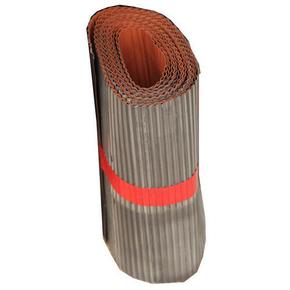 Plomb plissé ép.0,5mm long.5m larg.25cm coloris rouge - Gedimat.fr
