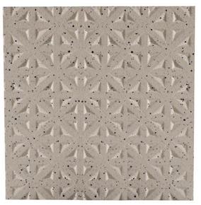 Carrelage pour sol en grès cérame pleine masse DOTTI DIAMOND dim.20x20cm coloris ivory - Gedimat.fr