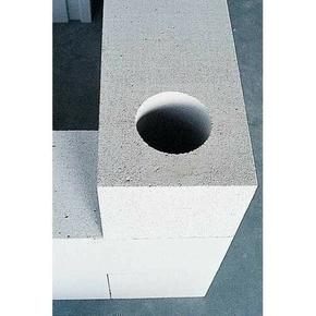 Bloc de béton cellulaire d'angle Long.0,6 x Haut.0,25 m Ep.20 cm - Gedimat.fr