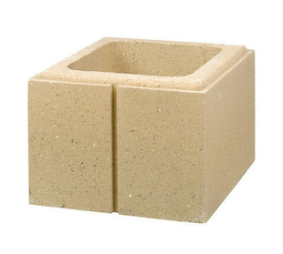 el ment de pilier lisse pierlisse marlux en b ton. Black Bedroom Furniture Sets. Home Design Ideas