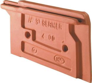 Rive individuelle droite à emboîtement VALOISE / TERROISE ou AUXOISE coloris flammé rustique - Gedimat.fr