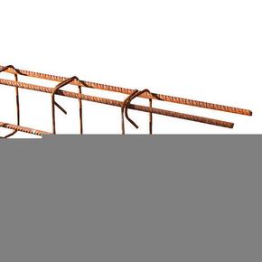 Chaînage linteau section 8x12cm 2 aciers HA5 + 2 aciers HA10 long.6m - Gedimat.fr