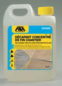 Produit désincrustant acide pour sol DETERDEK 1L - Gedimat.fr