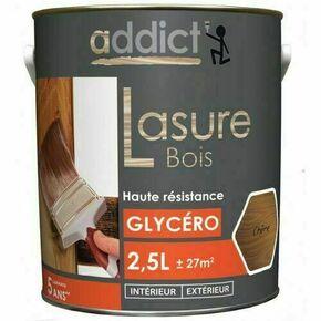 Lasure bois intérieur/extérieur phase solvant semi-pelliculaire aspect satiné ciré chêne clair 2,5L - Gedimat.fr