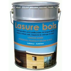 lasure bois int rieur ext rieur hydro semi pelliculaire aspect satin cir incolore 5l. Black Bedroom Furniture Sets. Home Design Ideas