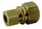 Raccord union laiton brut double bicône réduit pour tube cuivre diam.14mm/diam.12mm sous coque 1 pièce - Gedimat.fr
