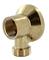 Applique mâle femelle laiton brut diam.15x21mm sous coque de 1 pièce - Gedimat.fr