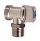 Robinet simple 1/4 de tour mâle pour machine à laver diam.15X21mm - 20X27mm - Gedimat.fr
