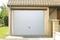Porte de garage basculante tablier métallique avec portillon gauche haut.2,00m larg.2,40m - Gedimat.fr