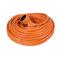 Rallonge prolongateur de jardin 2 pôles + terre 16A avec câble d'alimentation rond coloris orange câble H05VVF 2G1,5mm² long.40m sous film de 1 pièce - Gedimat.fr
