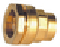 Raccord droit à écrou tournant laiton pour tuyau polyéthylène 20x27 diam.25mm - Gedimat.fr