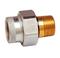 Raccord isolant laiton mâle/femelle pour chauffe eau électrique 20x27 lot de 2 pièces - Gedimat.fr