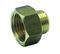 Mamelon laiton chromé réduit 246 femelle diam.15x21mm mâle diam.12x17mm sous coque de 1 pièce - Gedimat.fr