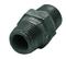 Mamelon acier galvanisé double mâle égal FG280 diam.33x42mm avec lien 1 pièce - Gedimat.fr